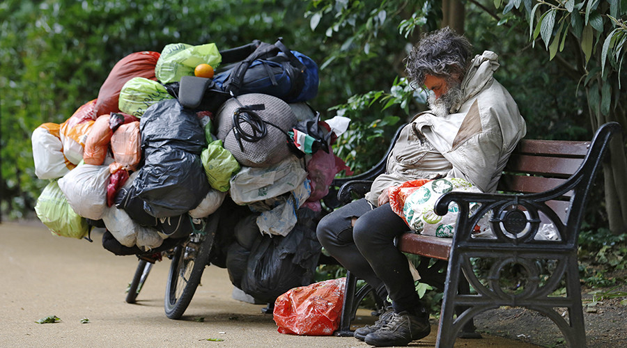 Most pointless fine ever? Homeless people blocking doors threatened with £2.5k penalty