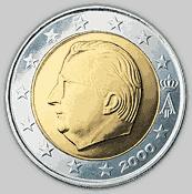 €2 Belgian coin