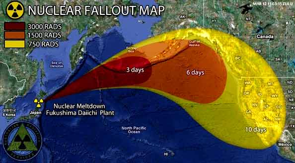 Fukushima A Nuclear War Without A War The Unspoken Crisis Of - Map of nuclear plants in us 2017