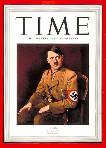 adolf hitler times man of the year