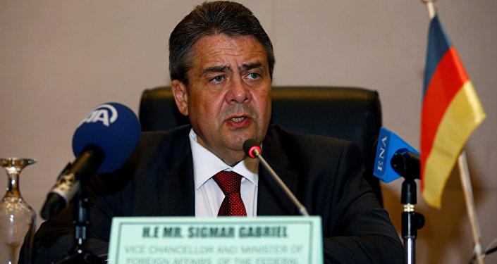 German Foreign Minister Sigmar Gabriel (File)