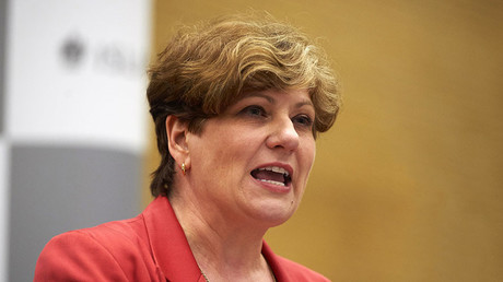 Labour politician Emily Thornberry. ©Niklas Halle'n