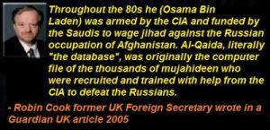 al qaeda osama CIA robin cook quote