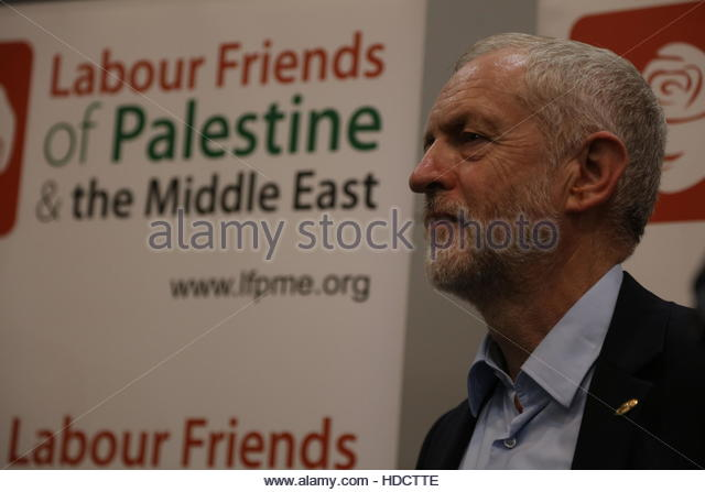Labour Party Conference at Exhibition Centre Liverpool in Liverpool  Featuring: JEREMY CORBYN Where: Liverpool, - Stock Image