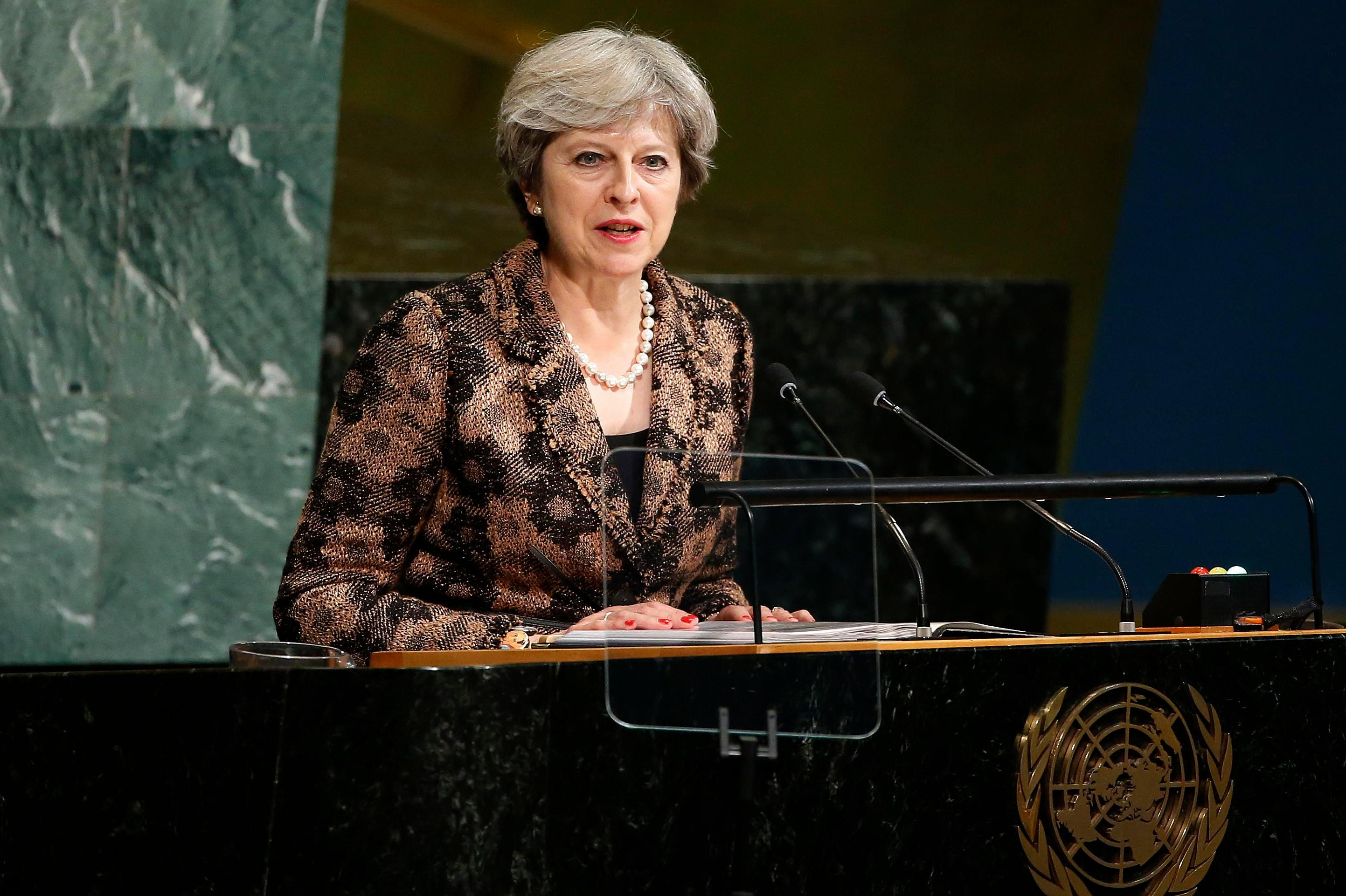 Theresa May will make clear in a speech to EU leaders in Florence today that Britain will leave for good — before the next General Election