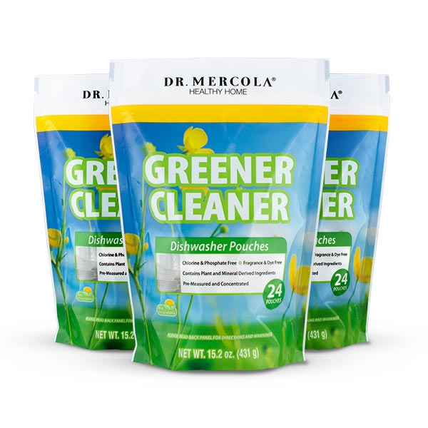 Greener Cleaner Dishwasher Pouches 3-Pack