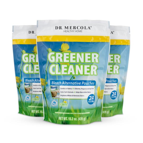 Greener Cleaner Laundry Pouches 3-Pack