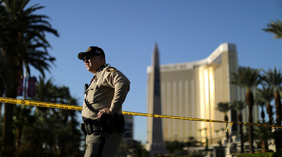 2 guns found in Las Vegas shooter's hotel room shown in newly-released images (PHOTOS)