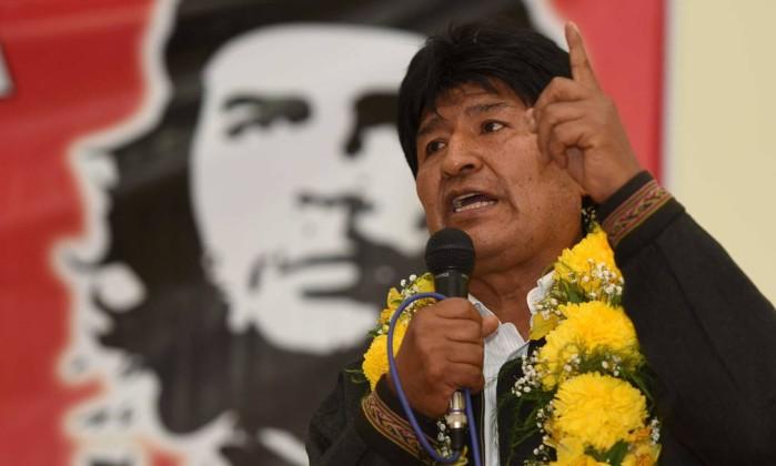 Image result for Bolivia's president