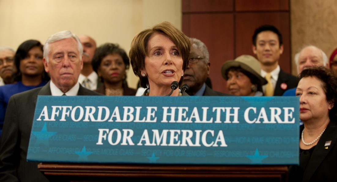 Image: Has Big Pharma destroyed Nancy Pelosi's brain?