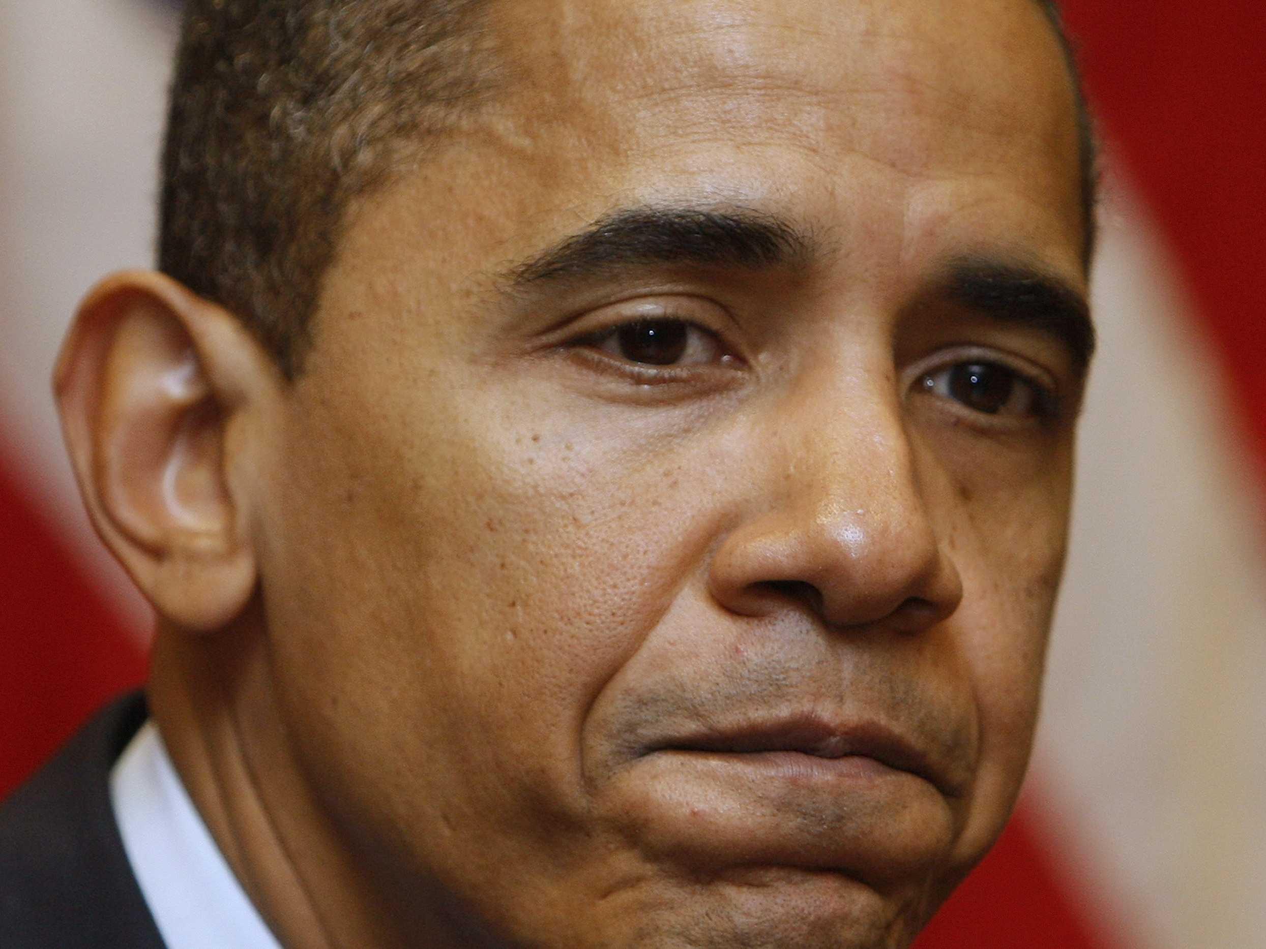 Image result for sad Barack Obama