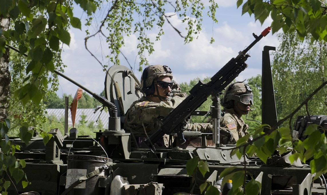 US Quietly Bolsters Forces in Poland Breaching Russia-NATO Deal