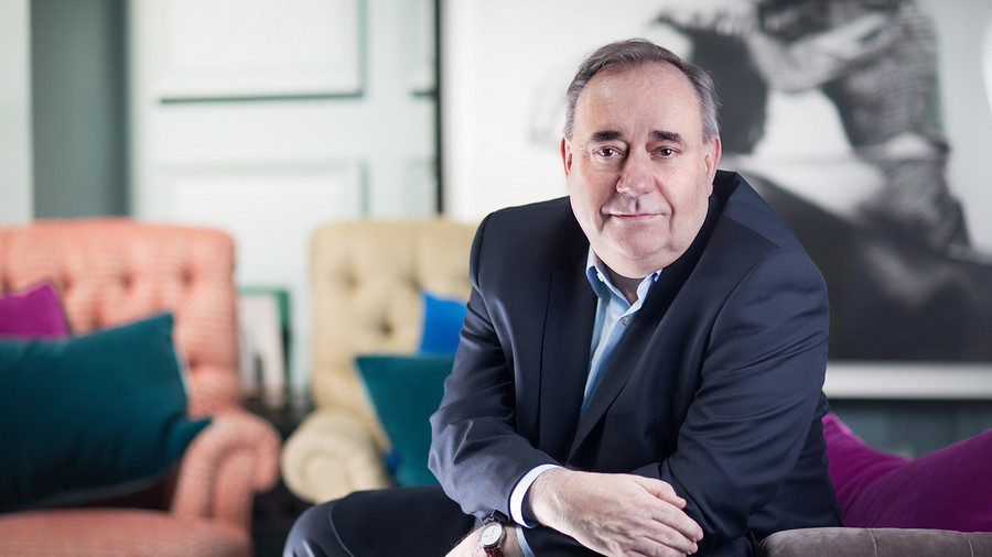 Mainstream media in predictable meltdown over Alex Salmond's RT show