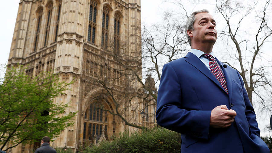 Nigel Farage calls on EU to investigate George Soros funding, collusion