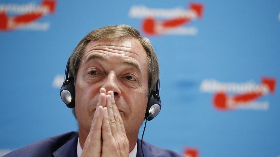 Downing Street drawing blueprint for Tory election defeat – Farage