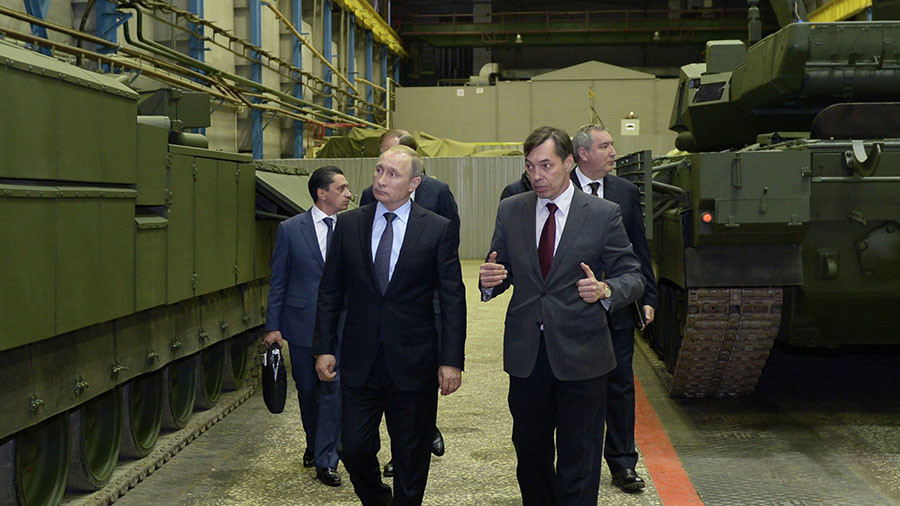 Putin orders Russian companies to be ready for urgent transition to war-time operations