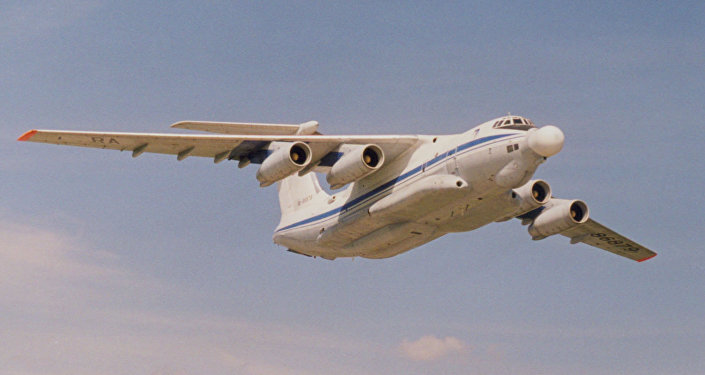 The Beriev A-60 Airborne Laser flying laboratory, created in the 1980s to develop laser technology for the Soviet military