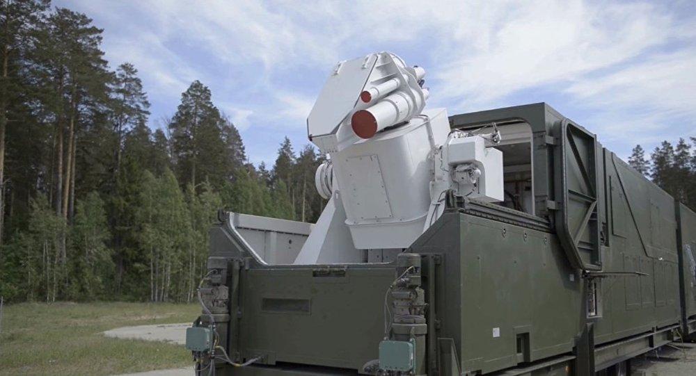 Combat laser complex