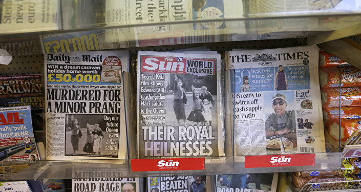 File Photo of UK Tabloids