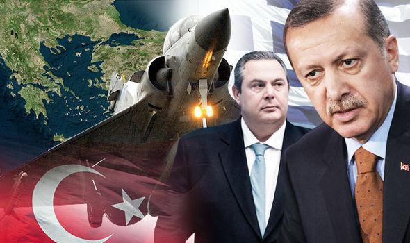 A Greek fighter jet crashed