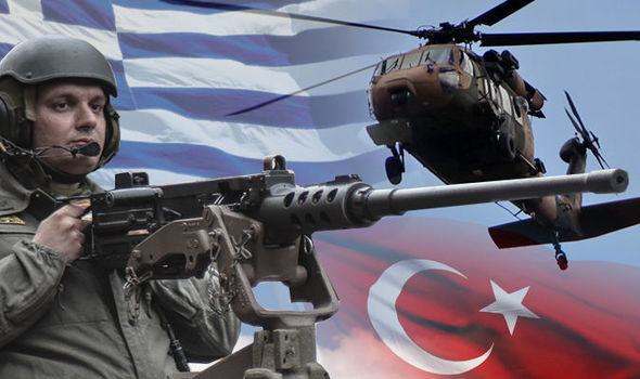 Greece and Turkey are at odds over the Aegean