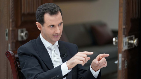 President Bashar Assad. © SANA
