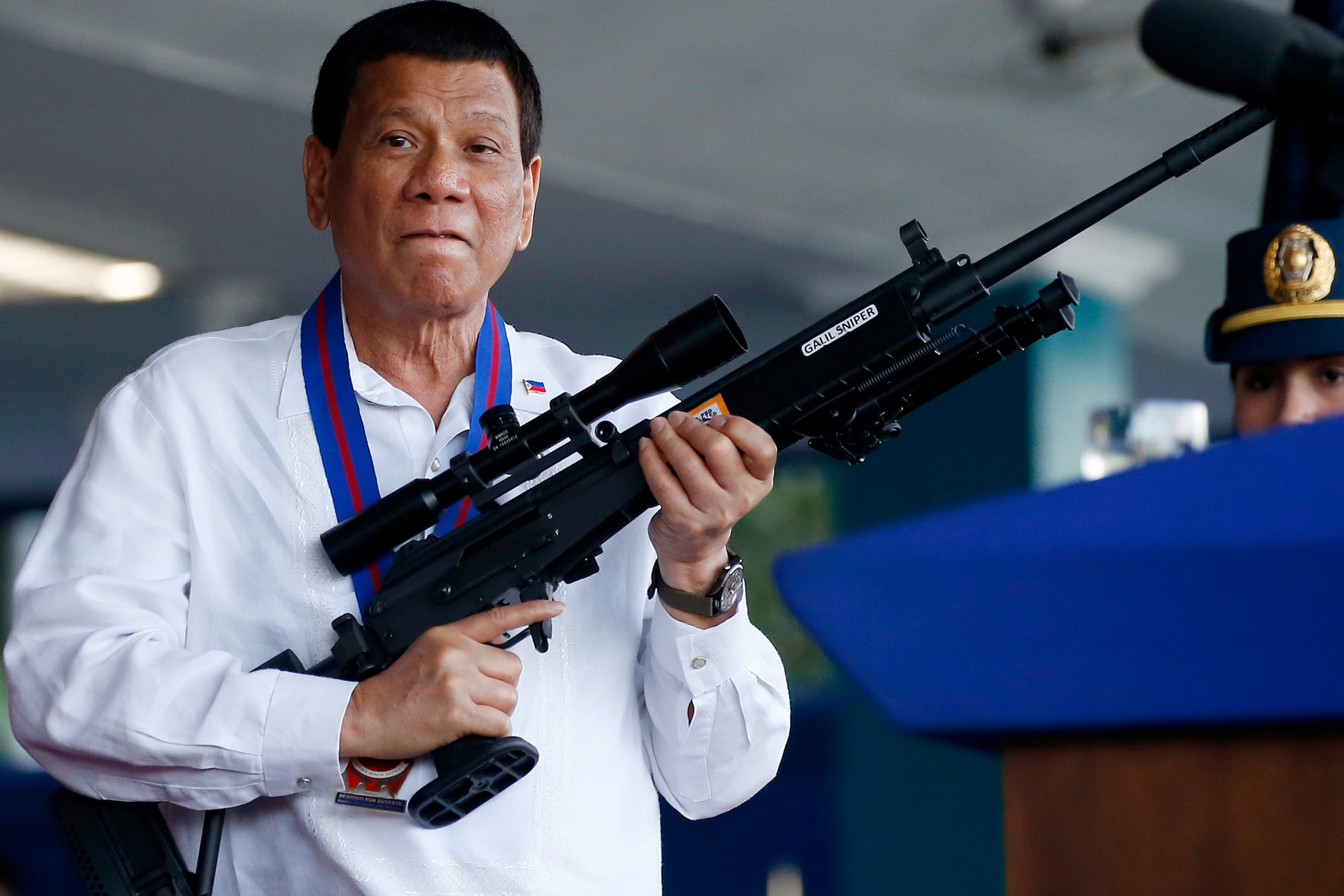 Duterte Wants to Give the Public 42,000 Free Guns