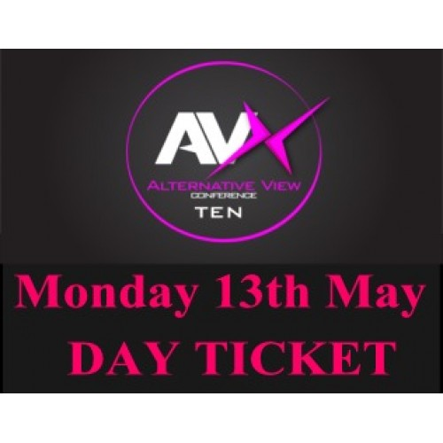 AV10 One Day Ticket (Incl Lunch + Dinner) - Mon 13th May 2019