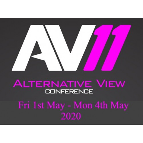 AV11 Ultra Earlybird Conference Ticket (Residential) - 1st - 4th May 2020