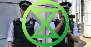Fake Protest Extinction Rebellion