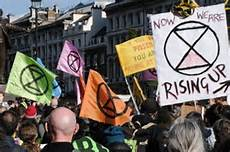 Fake Protest Extinction Rebellion Windows on the World