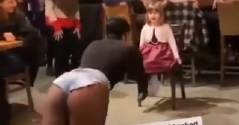 Drag Queen Dances Suggestively For Child While Adults Clap and Cheer