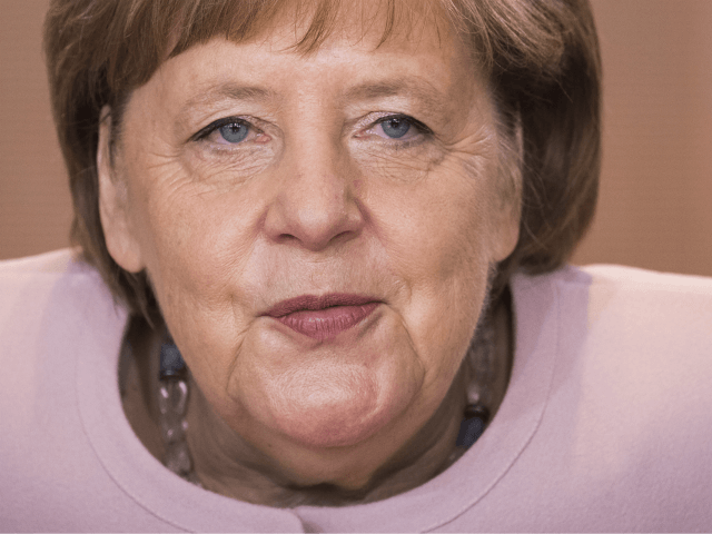 German Chancellor Angela Merkel arrives to lead the weekly cabinet meeting at the Chancellery in Berlin on June 6, 2019. (Photo by Odd ANDERSEN / AFP) (Photo credit should read ODD ANDERSEN/AFP/Getty Images)
