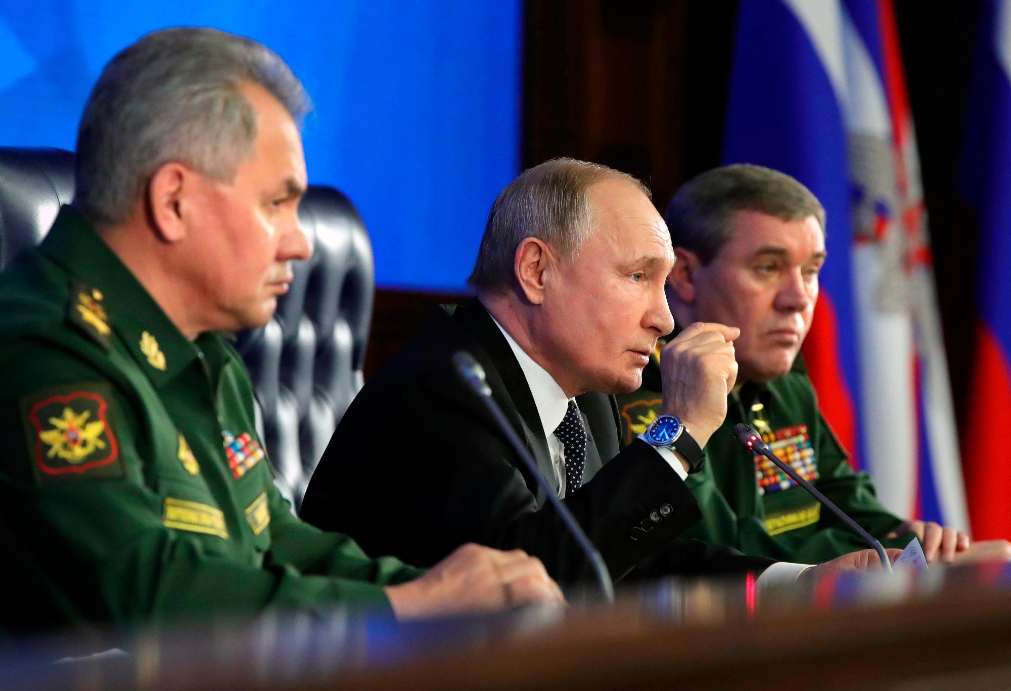 Putin and the military