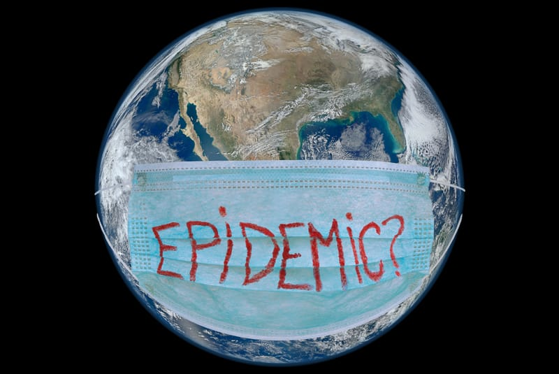coronavirus and climate change hoaxes