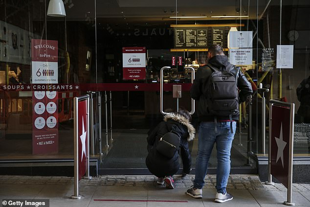 A Pret a Manger shop was closed after their first day of service since lockdown on May 2 as concerns spread that lockdown will take its toll on the economy