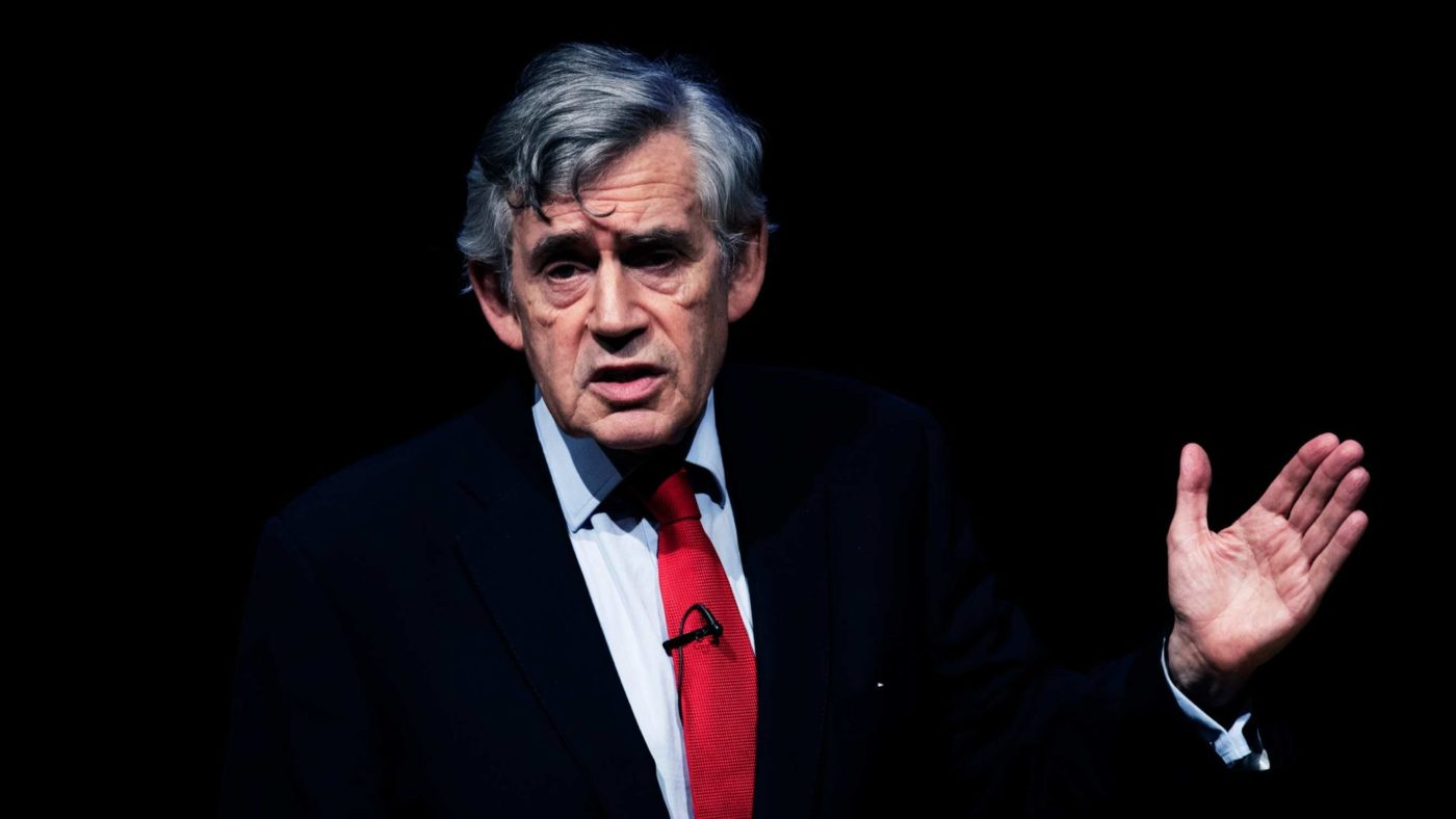 Gordon Brown's Brexit plan is the former Prime Minister at his worst