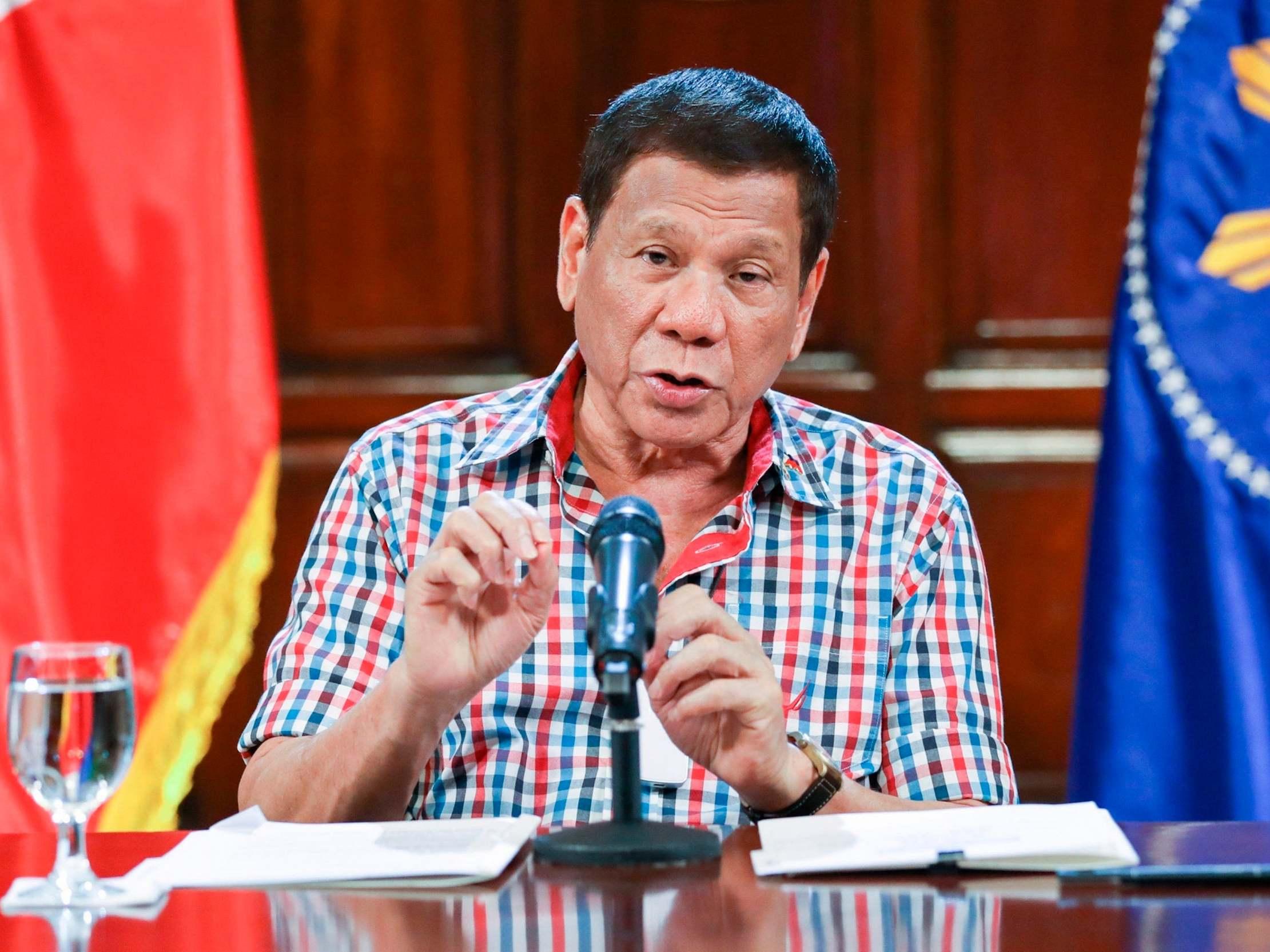 Rodrigo Duterte - latest news, breaking stories and comment - The ...