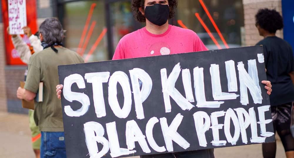 US police kill blacks with brutality matching Israeli military's