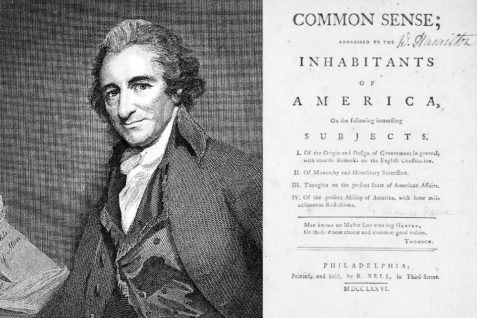 The Uncommon Sense of Thomas Paine