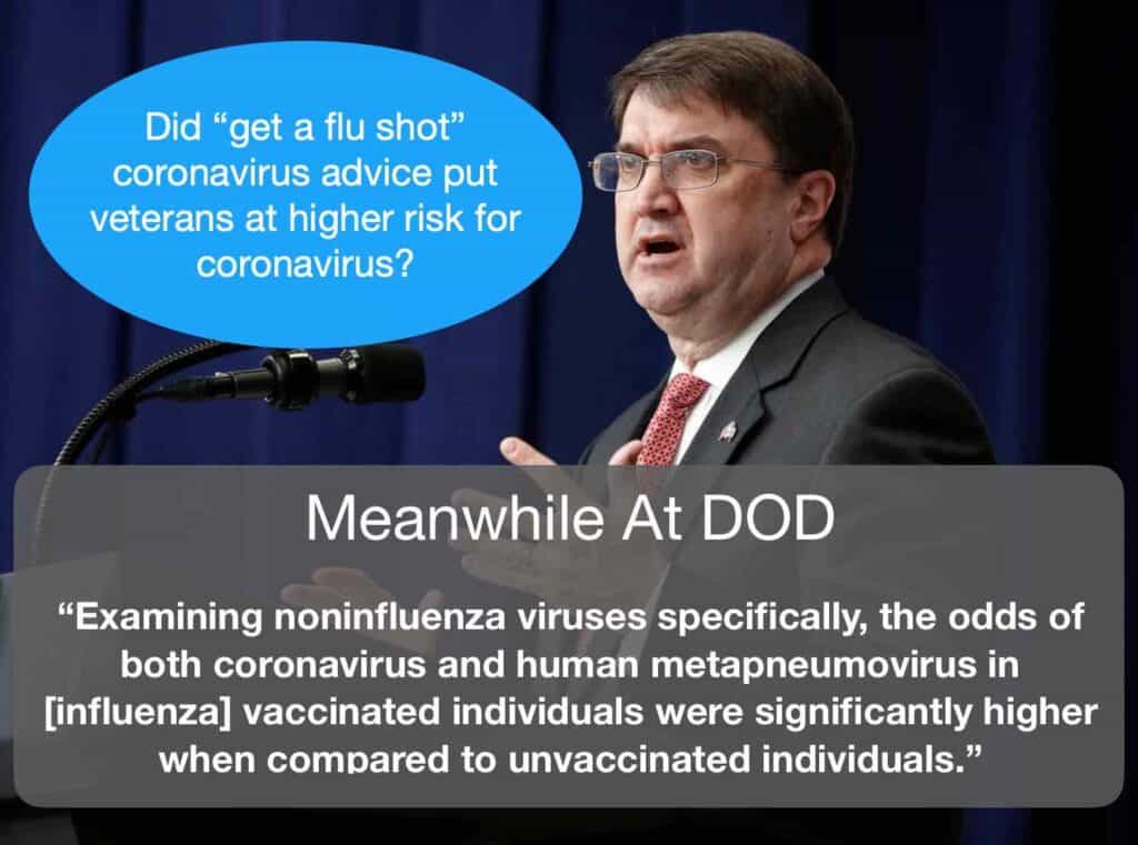 DOD Study Coronavirus Flu Vaccine