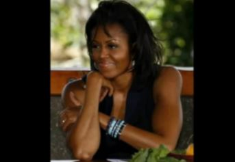 """Image: Why do so many people believe Michelle """"Michael"""" Obama is a biological man?"""