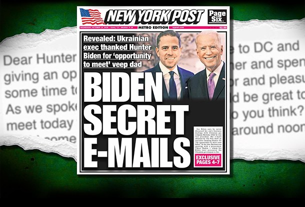 Hunter Biden Email Scandal