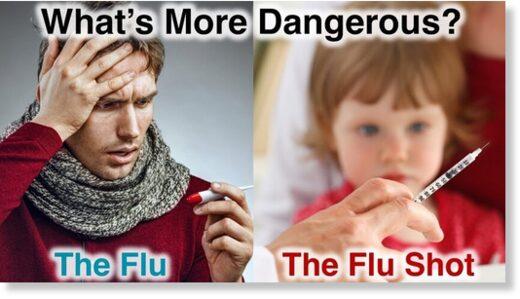 dangerous flu shot