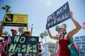 no new normal protest2