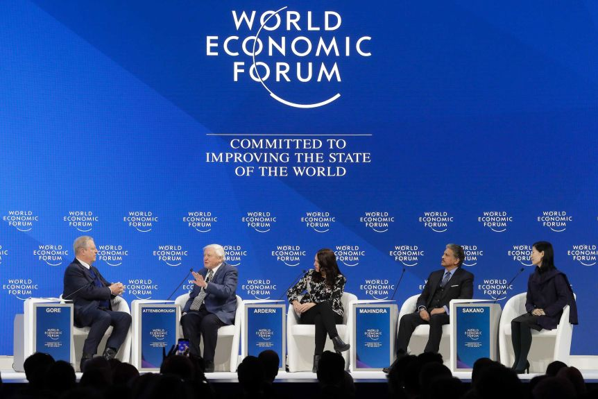 World Economic Forum Al Gore