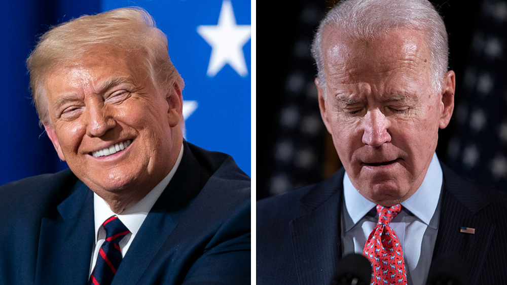 Image: Fake news media tries to GASLIGHT America, claims Biden the winner… Trump fires back with ultimate truth: The media doesn't decide elections