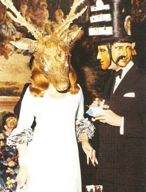 Illuminati ball elite Rothchilds masks