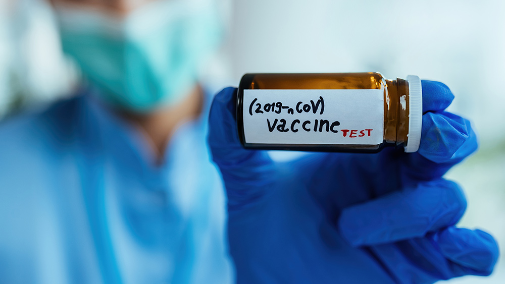 """Image: Pharmacy caught dispensing """"special"""" flu vaccine just for black people"""