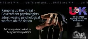 Ramping up the threat – Government psychologists admit waging psychological warfare on the nation